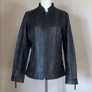 Peck & Peck leather jacket S GORGEOUS!